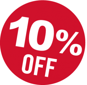 10%+off